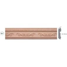 Дървен корниз - бук KT31