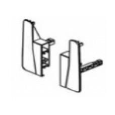 Скоби за монтаж на лицев панел H=130 мм, за рейлинг Ø11 мм