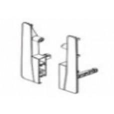 Скоби за монтаж на лицев панел H=190 мм, за рейлинг Ø11 мм