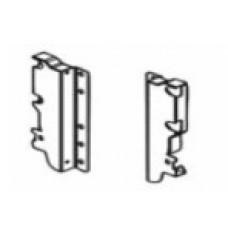 Монтажна планка за рейлинг H=190 мм, за заден панел