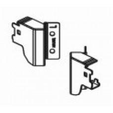 Задни монтажни скоби за гръб за ъглово чекмедже H=83 мм