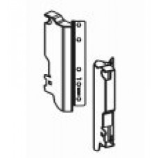 Задни монтажни скоби за гръб за ъглово чекмедже H=190 мм за единичен рейлинг