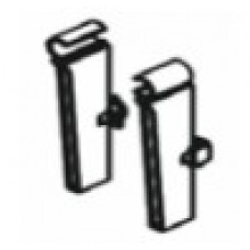 Адаптер за стъклен панел /заден, сив/ 063