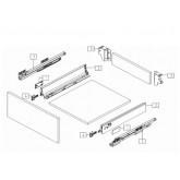 Система за чекмеджета  D-BOX - DTC L=400 мм